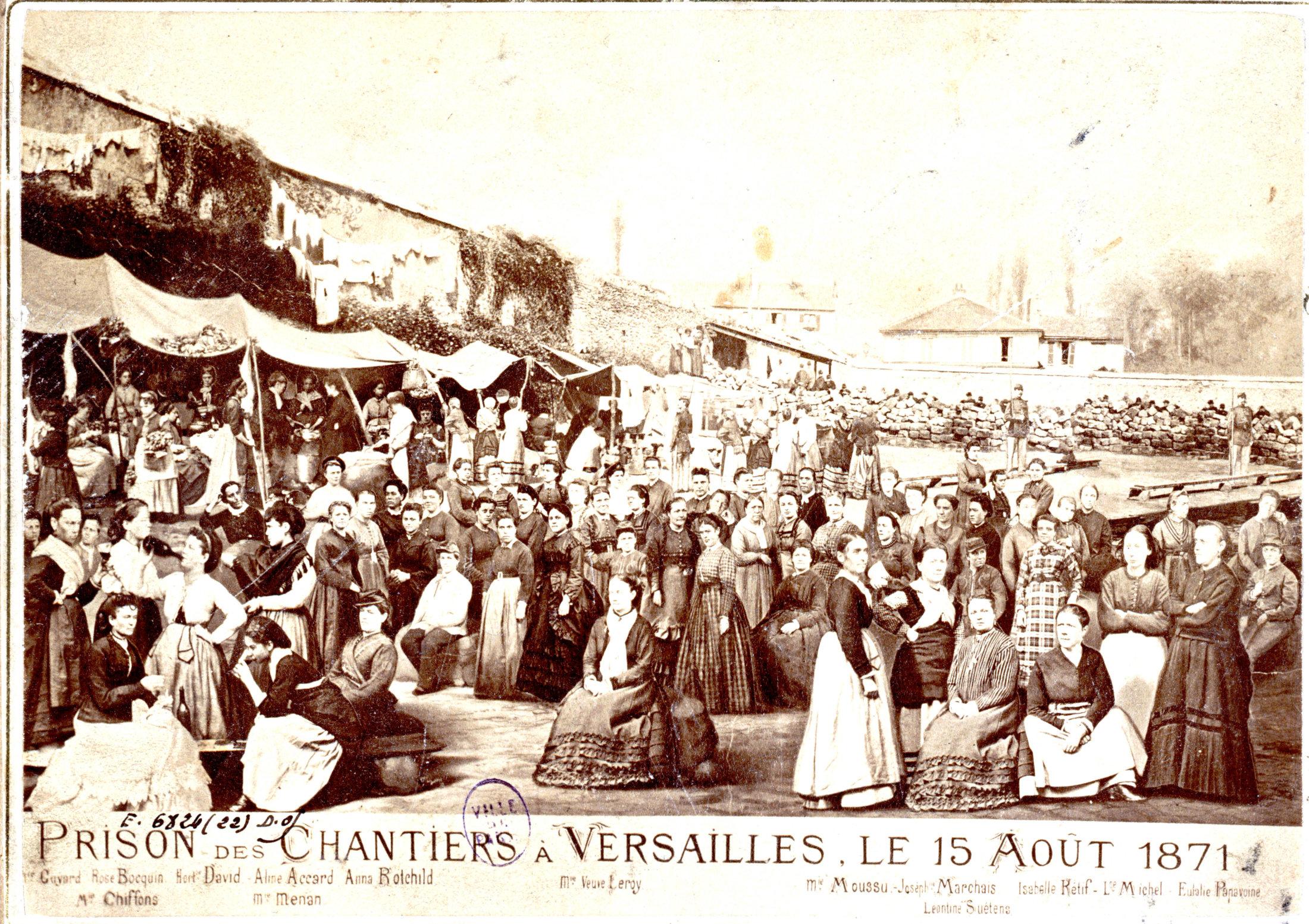 PARIS - PRISON DES CHANTIERS A VERSAILLES