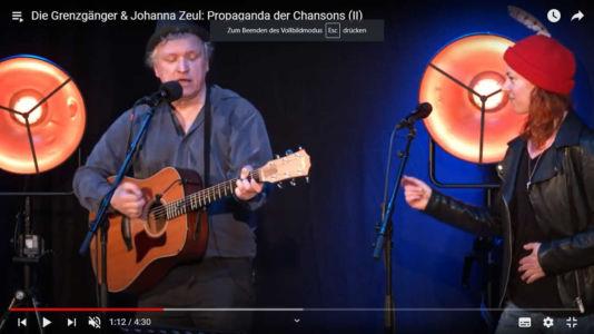 Die Grenzgänger & Johanna Zeul: Propaganda der Chansons II