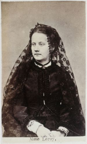 Image Appert Ernest Charles Leroy Veuve Nee Spinoy Marie Alexandrine 1850-. Pour Sa Participation A La Com 353845