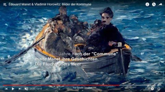 Édouard Manet & Vladimir Horowitz: Bilder der Kommune