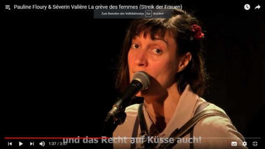 Pauline Floury & Séverin Valière La grève des femmes (Streik der Frauen)