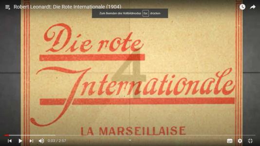 Robert Leonardt: Die Rote Internationale (1904)
