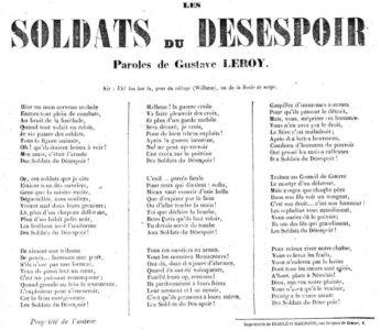 Soldats Du Desespoir