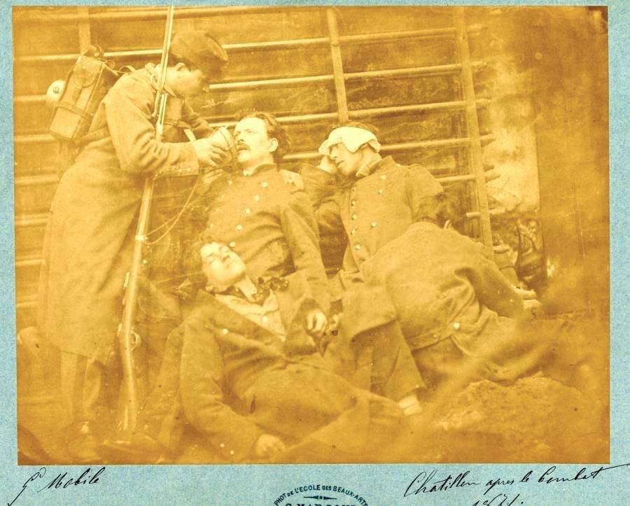 Verwundet in Chatillon (Inszeniert)
